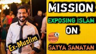 Ex-Muslim H. Sultan Exposed Islam| ft. Ankur Arya Satya Sanatan