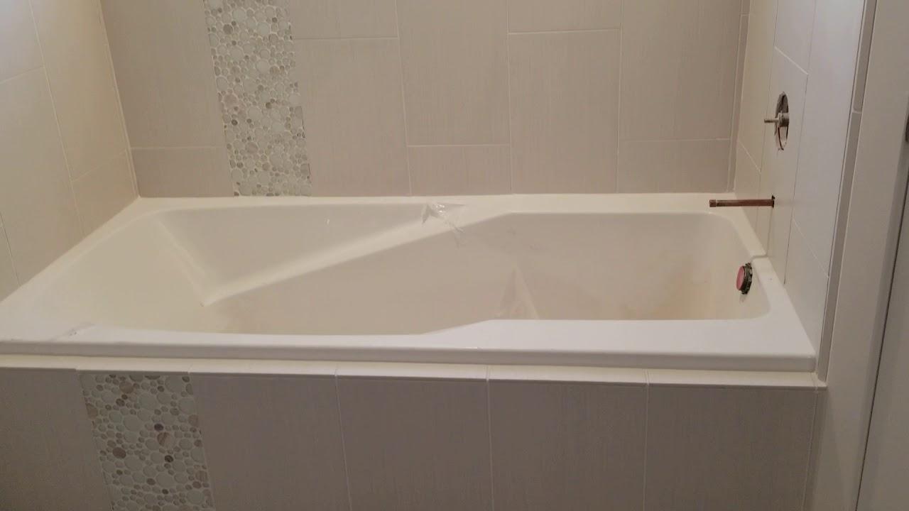Bathroom complete tile remodel in utah usa youtube for Bath remodel in utah