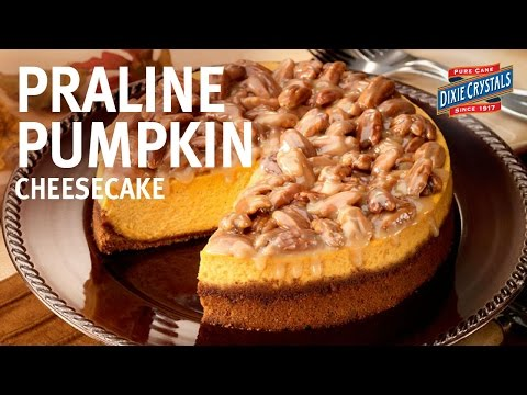 Pumpkin Praline Cheesecake Recipe by Chef Eddy Van Damme