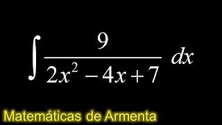 integracion por sustitucion trigonometrica ejemplo 28