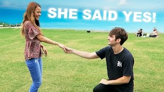 SHE SAID YES!! (...