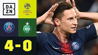 Julian Draxler mit Zaubertor: Paris St. Germain - St. Etienne 4:0 | Ligue 1 | DAZN Highlights