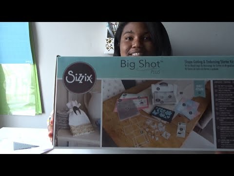 UNBOXING SIZZIX BIG SHOT PLUS|CRAFTCATOL