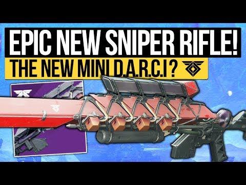 Destiny 2 | EPIC NEW SNIPER RIFLE! Ikelos Sniper Rifle: The Legendary Mini D.A.R.C.I (Warmind DLC)
