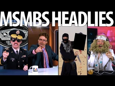 MSMBS News Headlies: ISIS, Gaza, Ukraine, Ebola, Ferguson and more... [RAP NEWS 27]