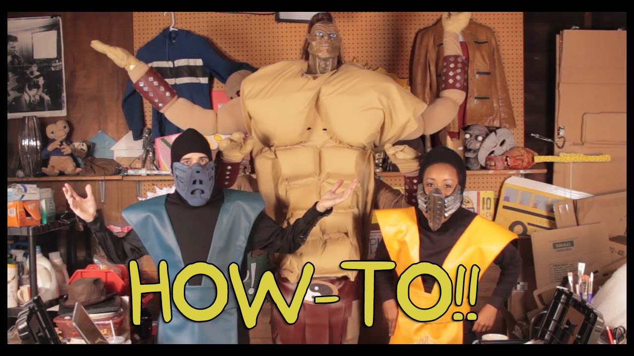 how to make mortal kombat costumes homemade how to youtube