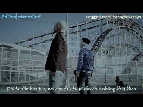 [Vietsub + Kara] BLUE - BIG BANG (Full MV)