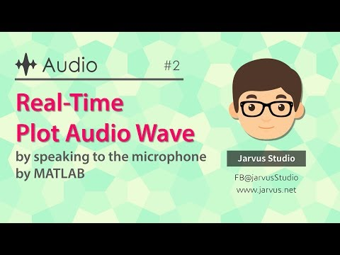 2 Real time plot audio wave by speaking to the microphone by
