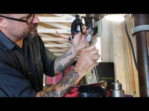 drill press chuck install