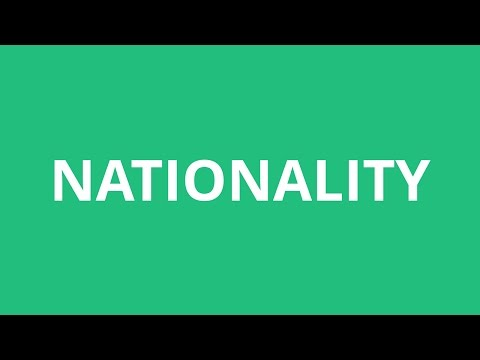 How To Pronounce Nationality - Pronunciation Academy