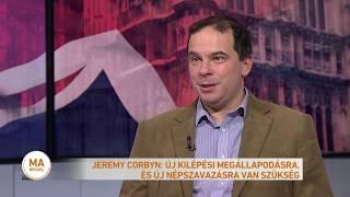 Boris Johnson és Jeremy Corbin televíziós vitája