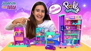 Скачать Mi Ciudad De Polly Pocket Es La Más Divertida Casa Centro Comercial Salón De Juegos Limusina