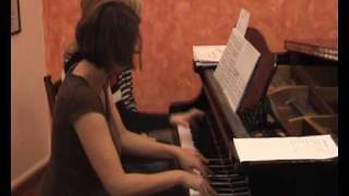 Gavrilin Valse for piano 4 hands