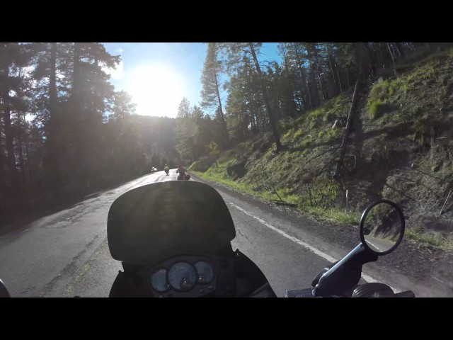 2016 Kawasaki KLR 650 Washington State Motorcycle Adventure Ride Part 5 - 4K