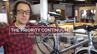 Priority Bicycles Continuum Overview With Dave