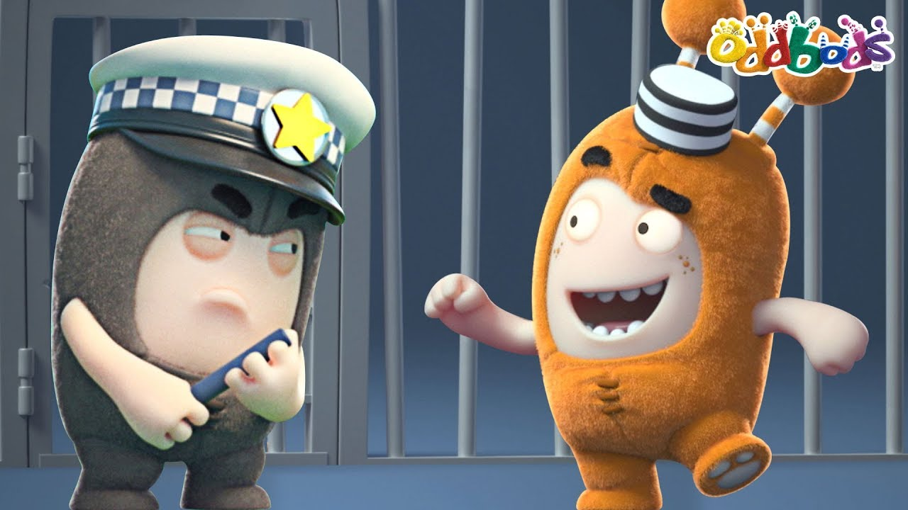 Oddbods | NEW | Slicks Super Fix | Funny Cartoons For Kids