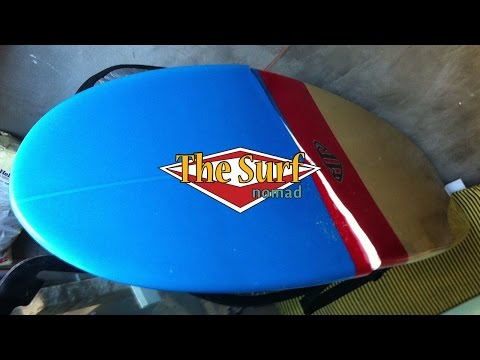 Fixing a snapped Surfboard Part 1