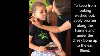 Pure Energy Dance Productions Recital Hair & Makeup Tips