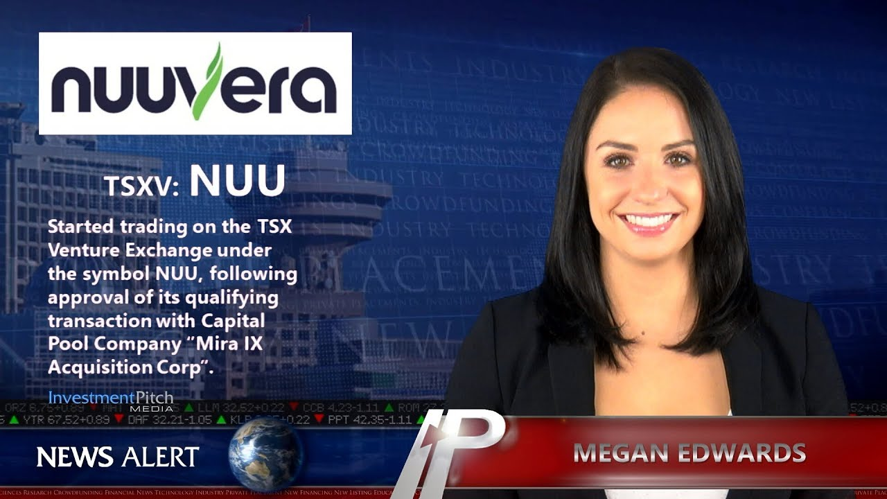 Nuuvera inc started trading on the tsx venture exchange under the nuuvera inc started trading on the tsx venture exchange under the symbol nuu biocorpaavc Images