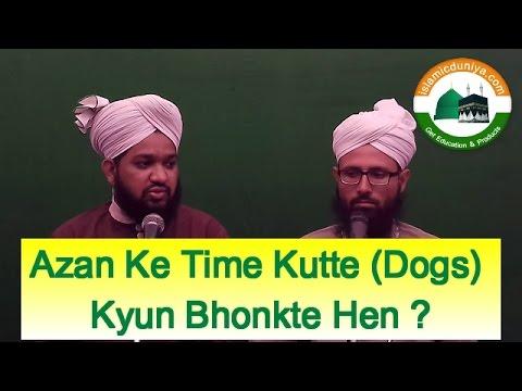 Azan Ke Time Kutte Dogs Kyun Bhonkte He(अज़ान के वक़्त कुत्ते क्यों भौंकते हैं?) - Online Mufti Ep 19