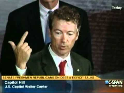 Download Sen. Rand Paul On his bill to ensure Social Security is funded after Aug. 2