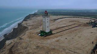 Dänemark: Ein Leuchtturm zieht um