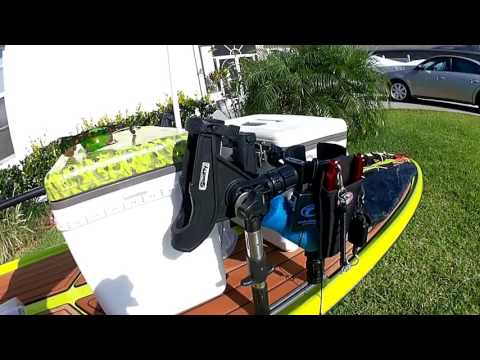 Setting Up A Paddle Board For Offshore Fishing