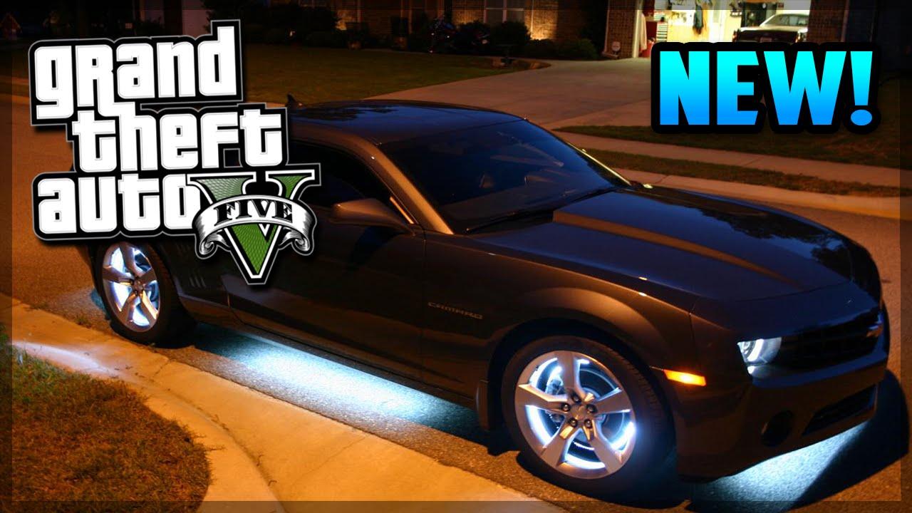 Gta 5 Cool Cars >> GTA 5 NEW Car Underglow Customization! (GTA V) - YouTube
