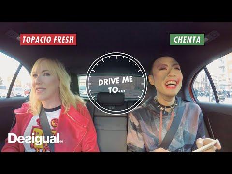 "Topacio Fresh & Chenta Tsai – Desigual ""DRIVE ME TO…."""