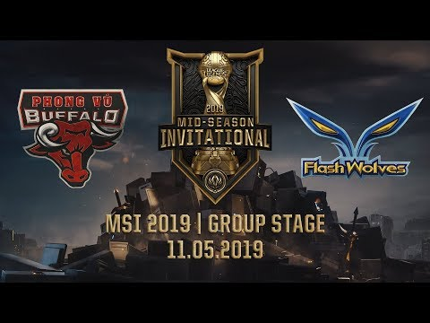 PVB Vs FW [MSI 2019][11.05.2019][Group Stage]