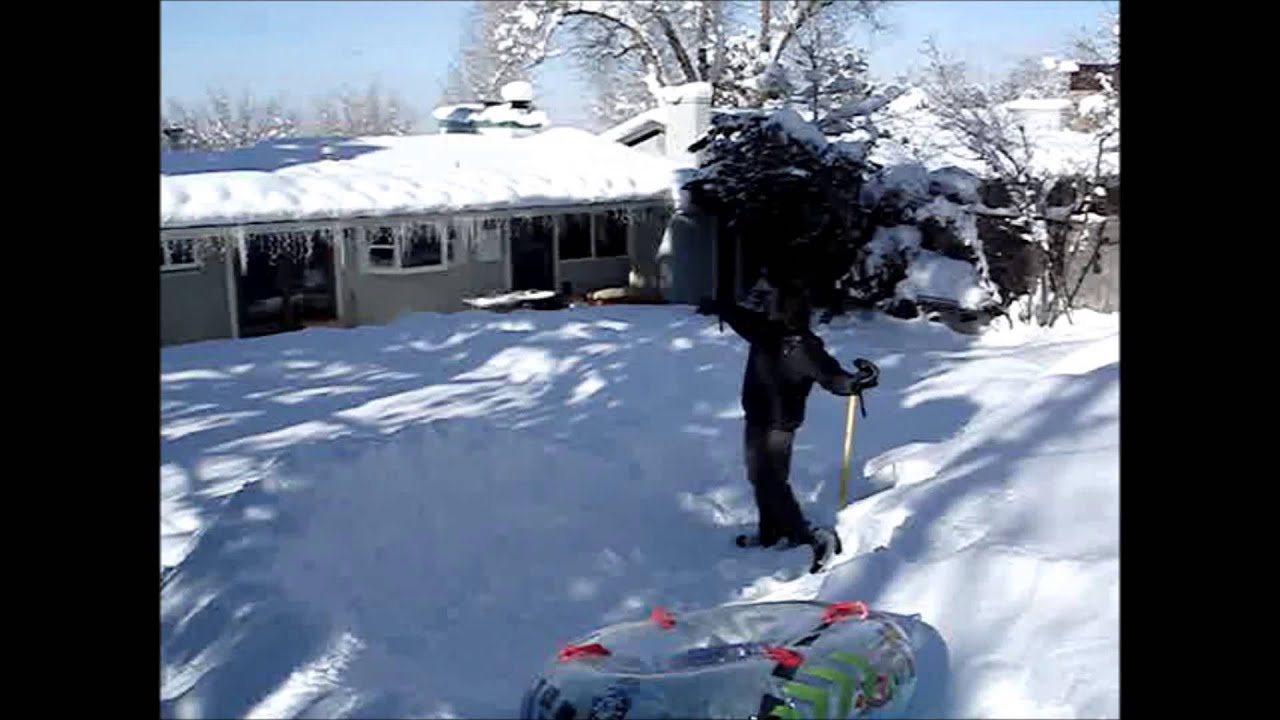 How To Build A Sledding Hill In Your Backyard Cool Outdoor Toys