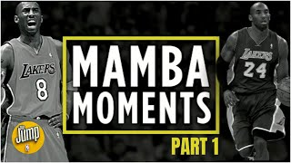 Kobe Bryant's Top 24 Mamba Moments [Part 1] | The Jump