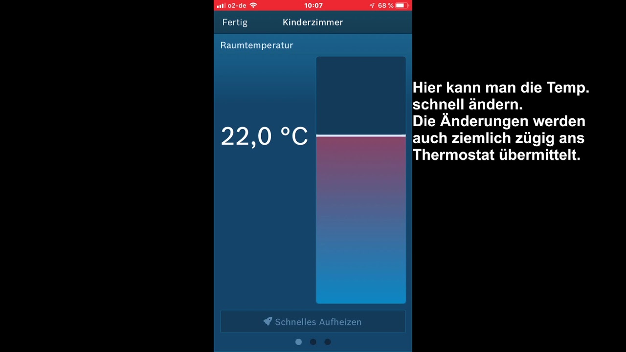 Smart Home Steuerung Bosch Smart Home Thermostat Steuerung In Der App