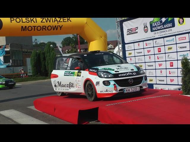 Rajd Nadwiślański Lubiak Borio Opel Adam R2 klip