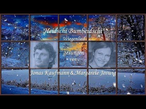 Jonas Kaufmann Weihnachtslieder.Jonas Kaufmann Margarete Joswig Heidschi Bumbeidschi Youtube