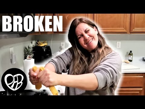 SHE BROKE IT!  A New Easy Family Spaghetti Dinner Recipe |  | PHILLIPS FamBam COOK WITH ME