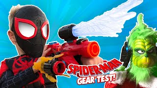 Spider-Man Into the Spider-Verse Movie Gear Test + The Grinch Returns! KIDCITY