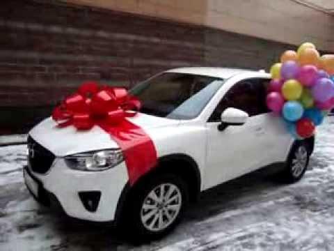 Бант подарочный на машину