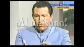 Chavez pidiendo Guarimba Durante la Presidendia de Rafael Caldera