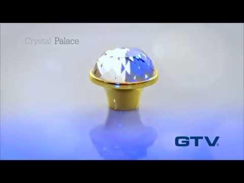 Мебельные ручки Crystal Palace от GTV