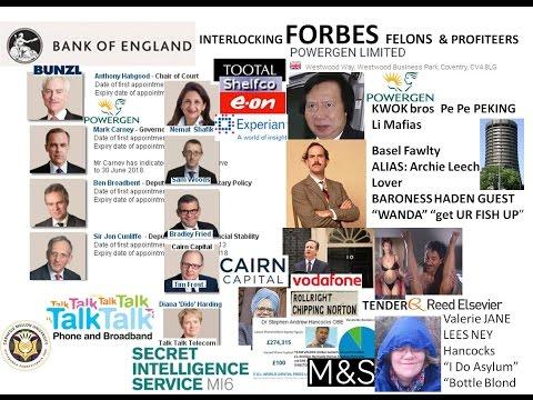 Kwok Li China Bnaires BofE interlocks to M&S Habgood Prentice, RBC Carney Camerons CAIRN frauds Kaac