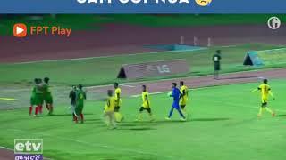 Khổ thân trọng tài, cầu thủ ở Ethiopia hành xử chẳng khác nào V-League