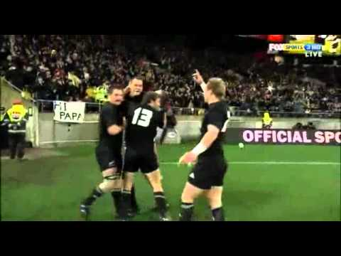 Israel Dagg's Great Try Vs South Africa In Wellington
