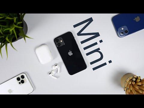 اَيفون 12 ميني ومقارنة مع اَيفون 12   iPhone 12 mini