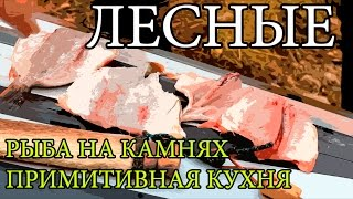 Дикая кухня - ЖАРЕНАЯ РЫБА НА КАМНЯХ | Cooking Fish With Hot Rocks