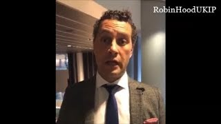 Steven Woolfe message to remainers ITS OVER