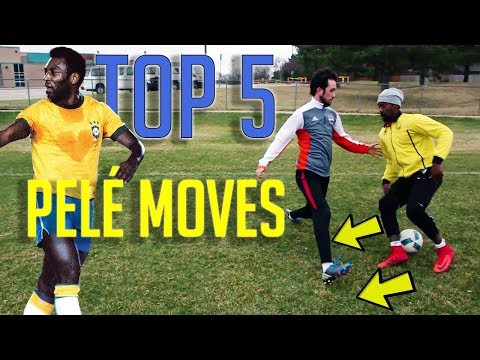 TOP 5 EASY STRIKER MOVES - HOW TO PLAY LIKE PELE