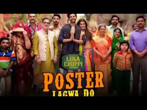 Luka Chuppi: Poster Lagwa Do Song | Kartik Aaryan, Kriti Sanon | Mika Singh , Sunanda Sharma Present