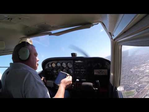FULL FLIGHT - VFR from Oakland (KOAK) to Hayward (KHWD)