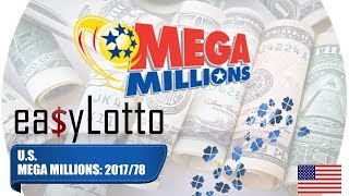 MEGA MILLIONS numbers 29 Sep 2017